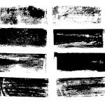 8 Grunge Banner Label Rectangle (PNG Transparent)