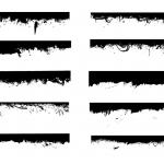 10 Grunge Border (PNG Transparent)