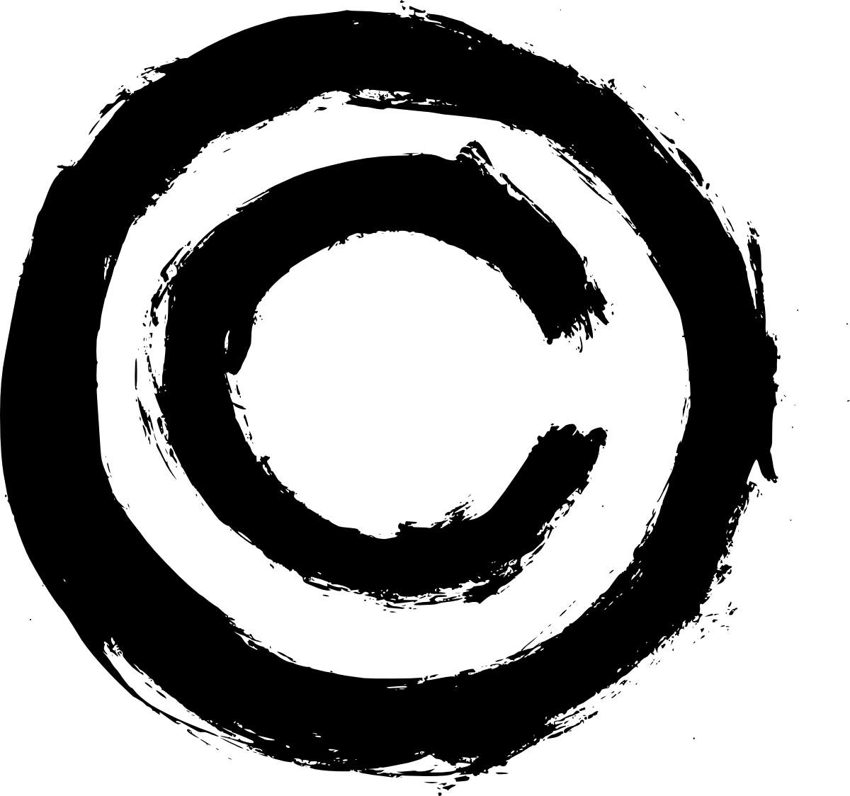 4 Grunge Copyright Symbol Png Transparent Onlygfx