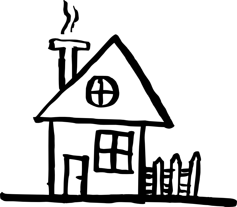 Line Art House Png : House drawing png transparent onlygfx