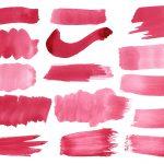15 Maroon Purple Watercolor Brush Stroke (PNG Transparent)
