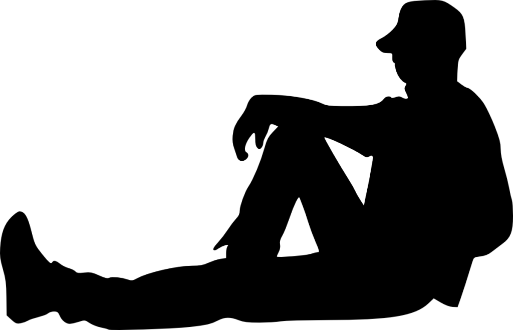 12 People Sitting Silhouette (PNG Transparent)   OnlyGFX.com