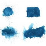 4 Dark Blue Watercolor Background (JPG)