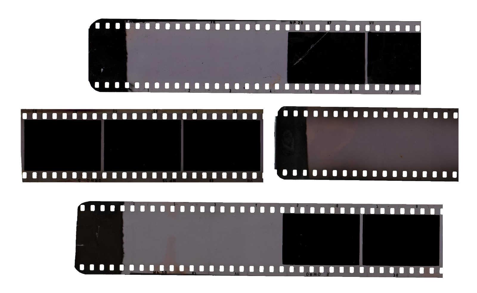 4 Vintage Filmstrip (PNG Transparent)   OnlyGFX.com   1600 x 982 jpeg 73kB