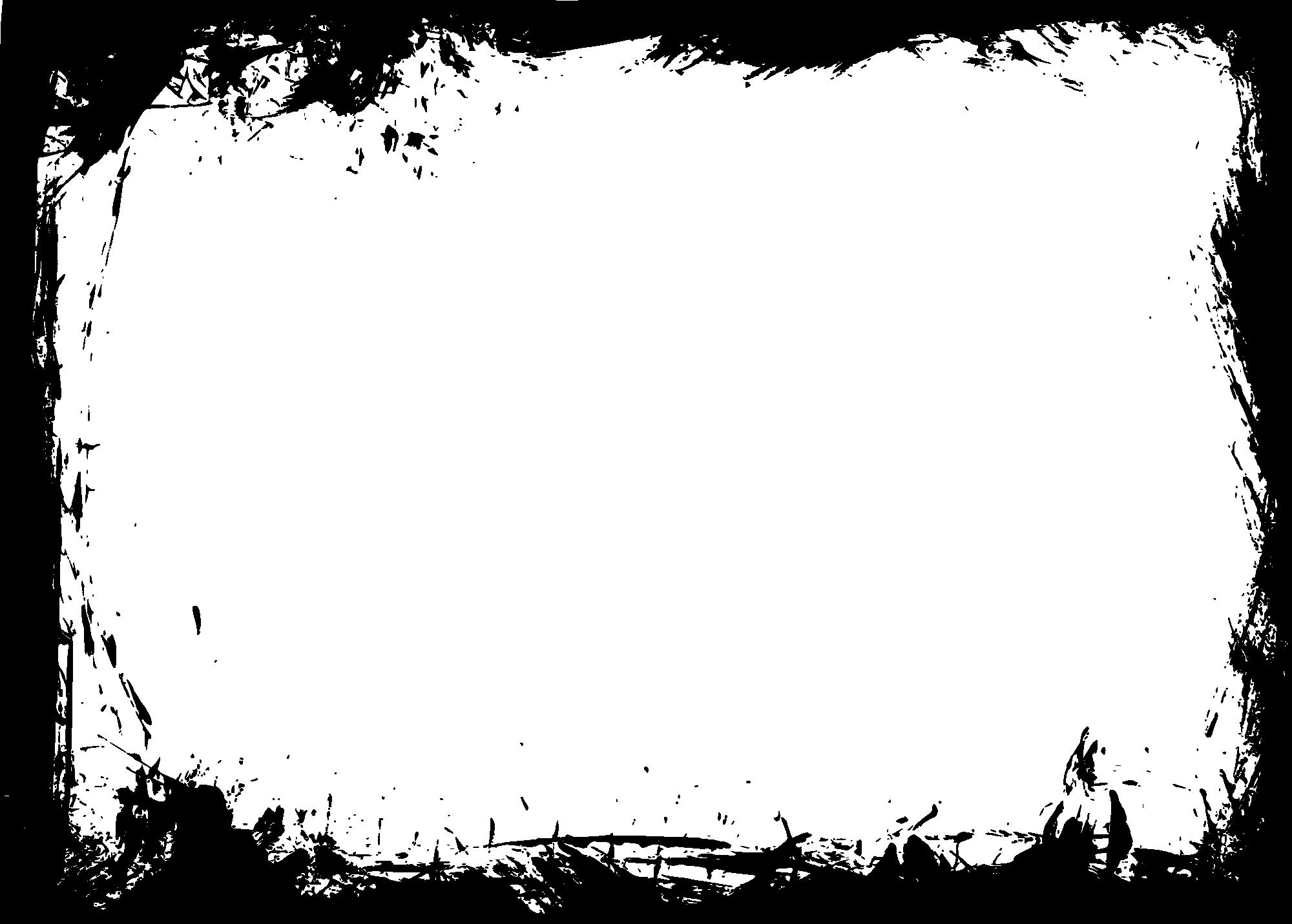 10 Rectangle Grunge Frame Png Transparent Vol4 Onlygfxcom