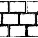 10 Rectangle Grunge Frame (PNG Transparent) Vol.4