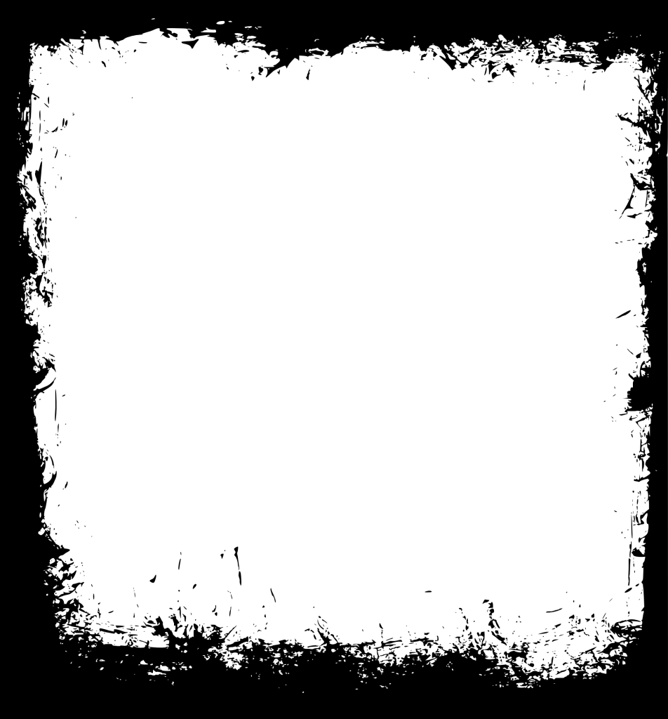 9 Square Grunge Frame (PNG Transparent) Vol.3 | OnlyGFX.com