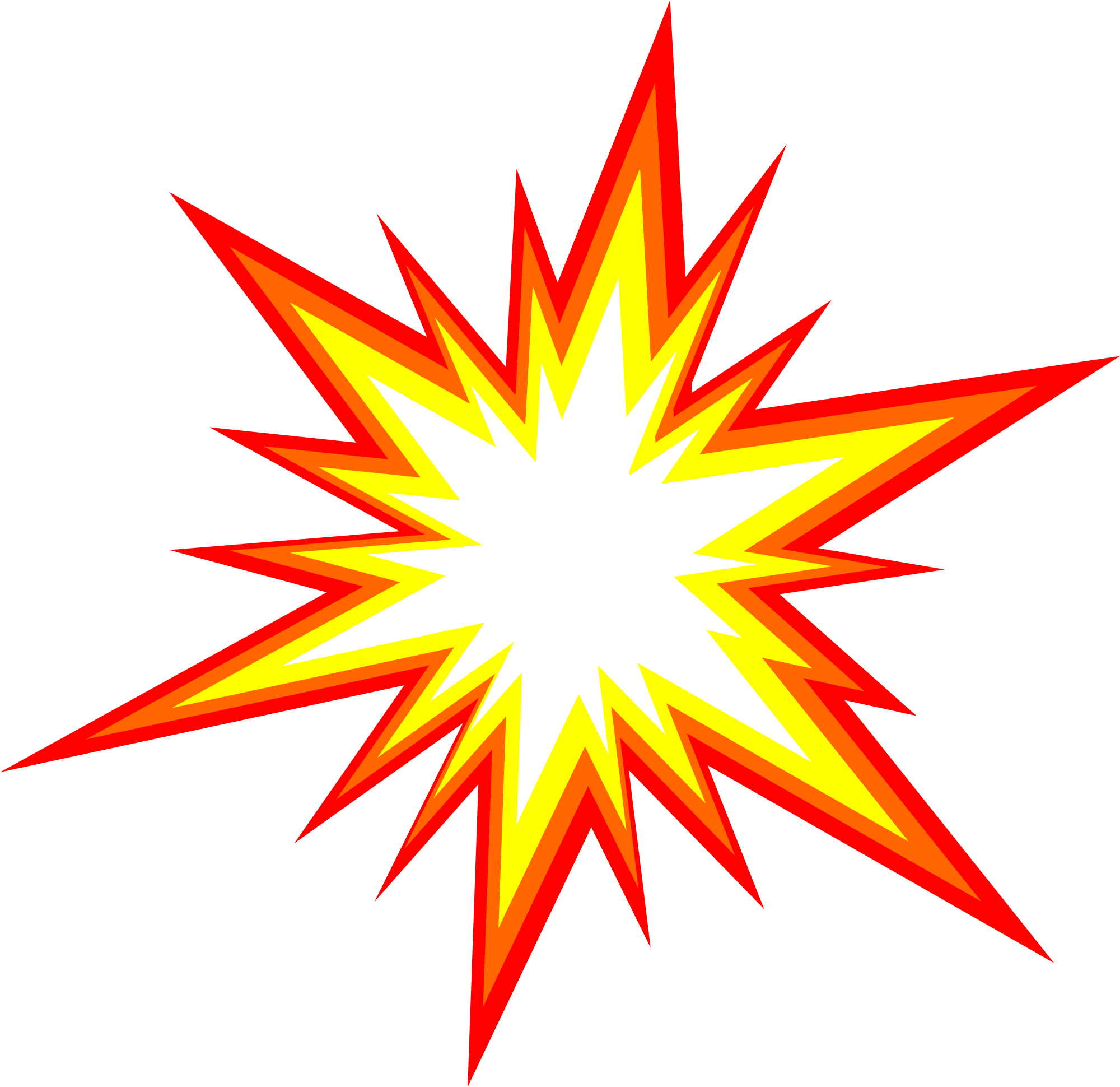 6 starburst explosion comic vector  png transparent  svg sunburst clipart for background sunburst clip art png