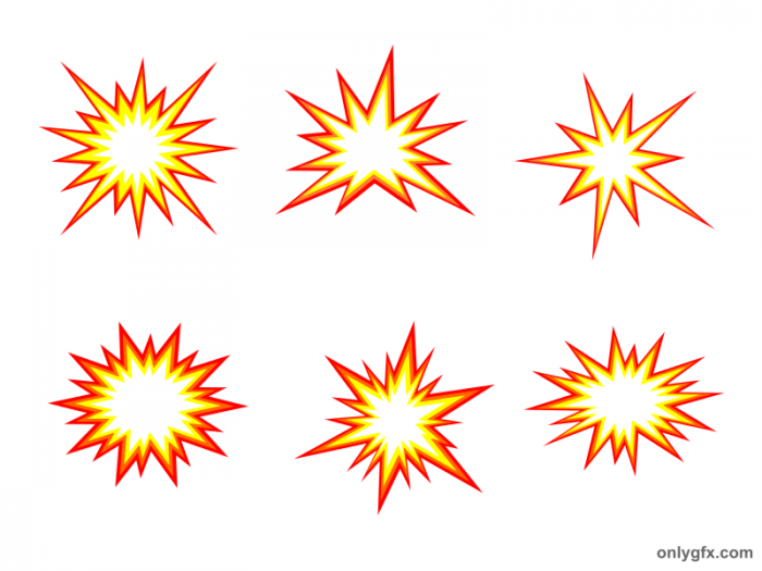 6 starburst explosion comic vector png transparent svg onlygfx com rh onlygfx com starburst vector free starburst vector background