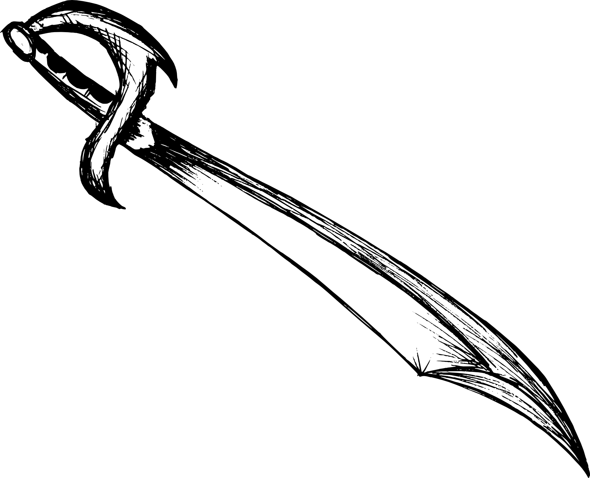 6 Sword Drawing (PNG Transparent) | OnlyGFX.com