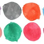8 Watercolor Circle (PNG Transparent) Vol.4