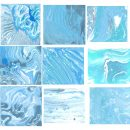 15 Blue Marbling Texture (JPG)