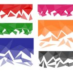 6 Polygonal Background Fade (PNG Transparent)