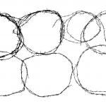 7 Circle Barbed Wire Frame (PNG Transparent)