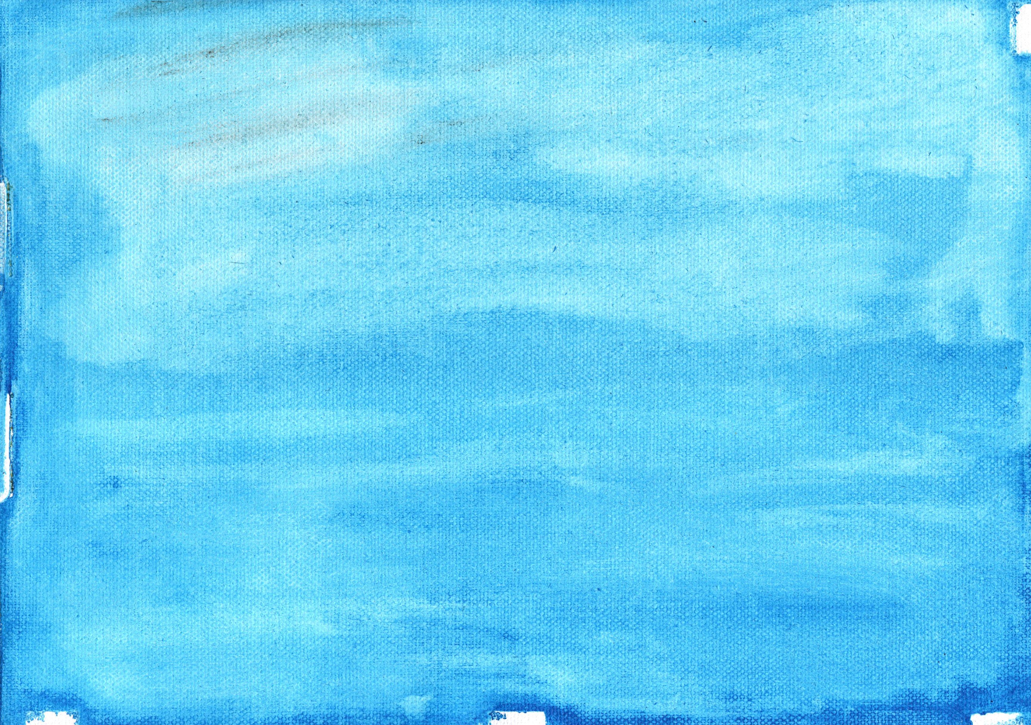 Free Download (blue Sky Paint Canvas 2)