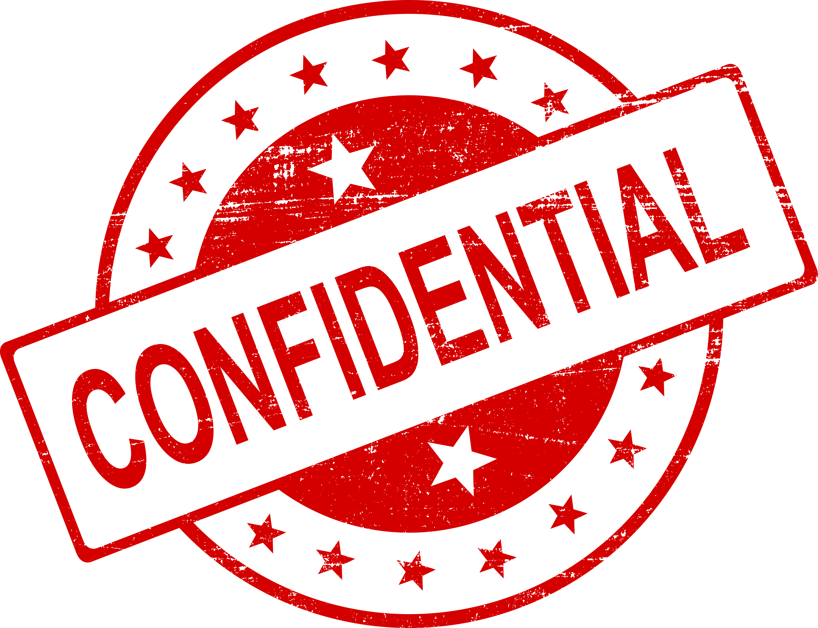 4 Confidential Stamp Png Transparent Onlygfx Com