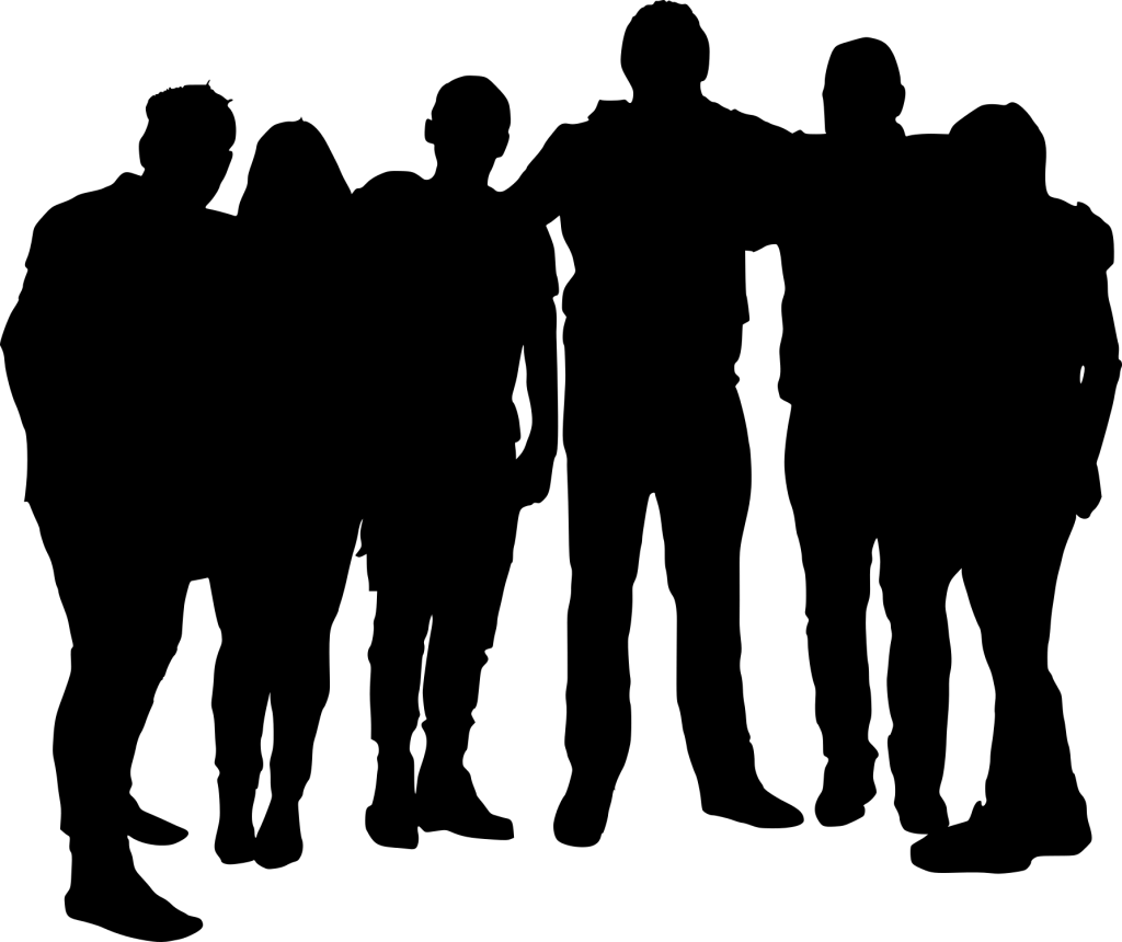 10 Group Photo Silhouette (PNG Transparent) | OnlyGFX.com