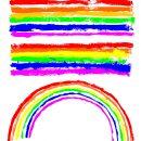 Grunge Rainbow (PNG Transparent)