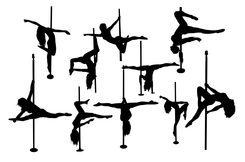10 Pole Dancer Silhouette Png Transparent Onlygfx Com