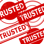 4 Trusted Stamp (PNG Transparent)