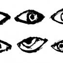 6 Grunge Eye (PNG Transparent)