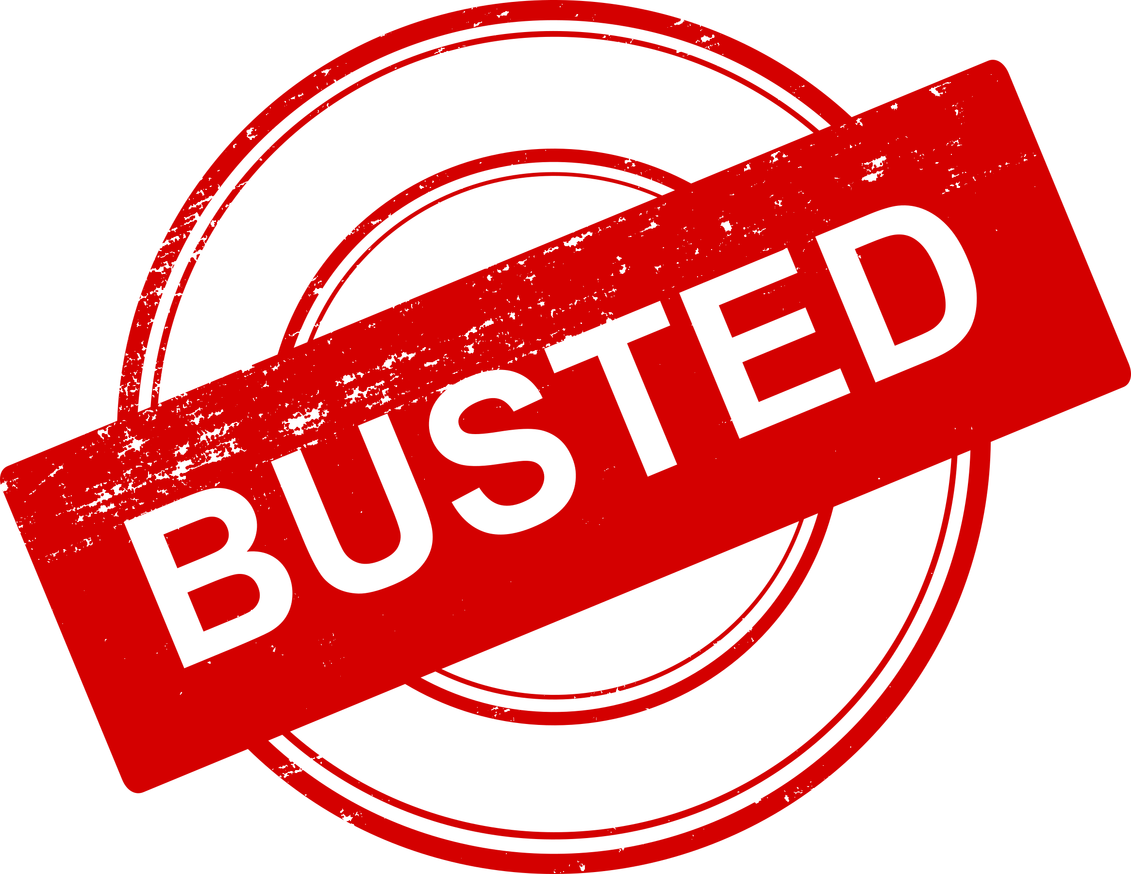 Busted (Copyright de 4 Busted Stamp (PNG Transparent) | OnlyGFX.com)