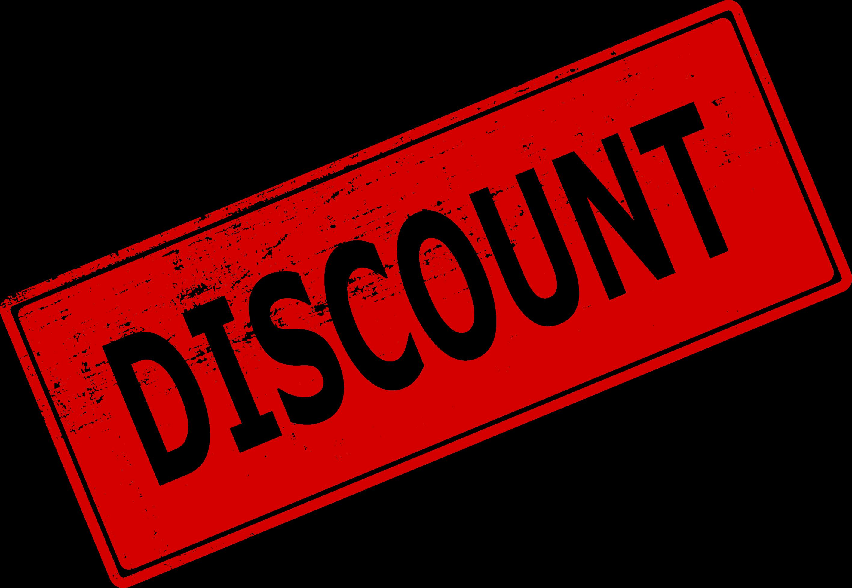 4 Discount Stamp (PNG Transparent) | OnlyGFX.com