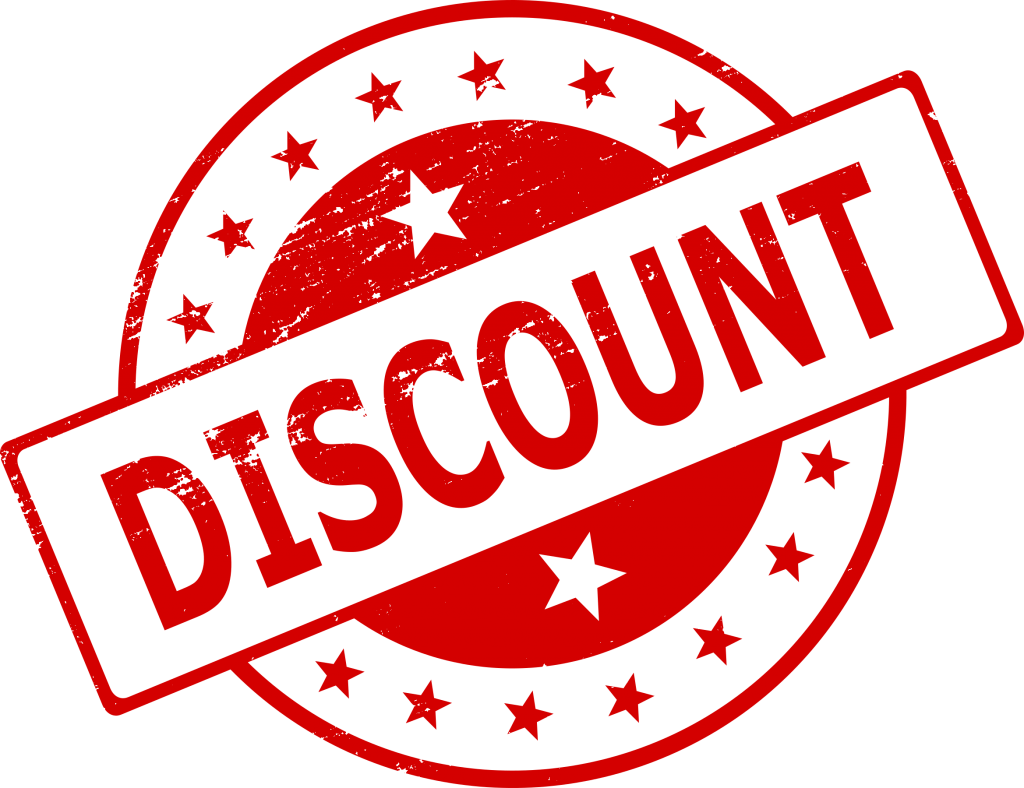 4 discount stamp png transparent for Cheap logo