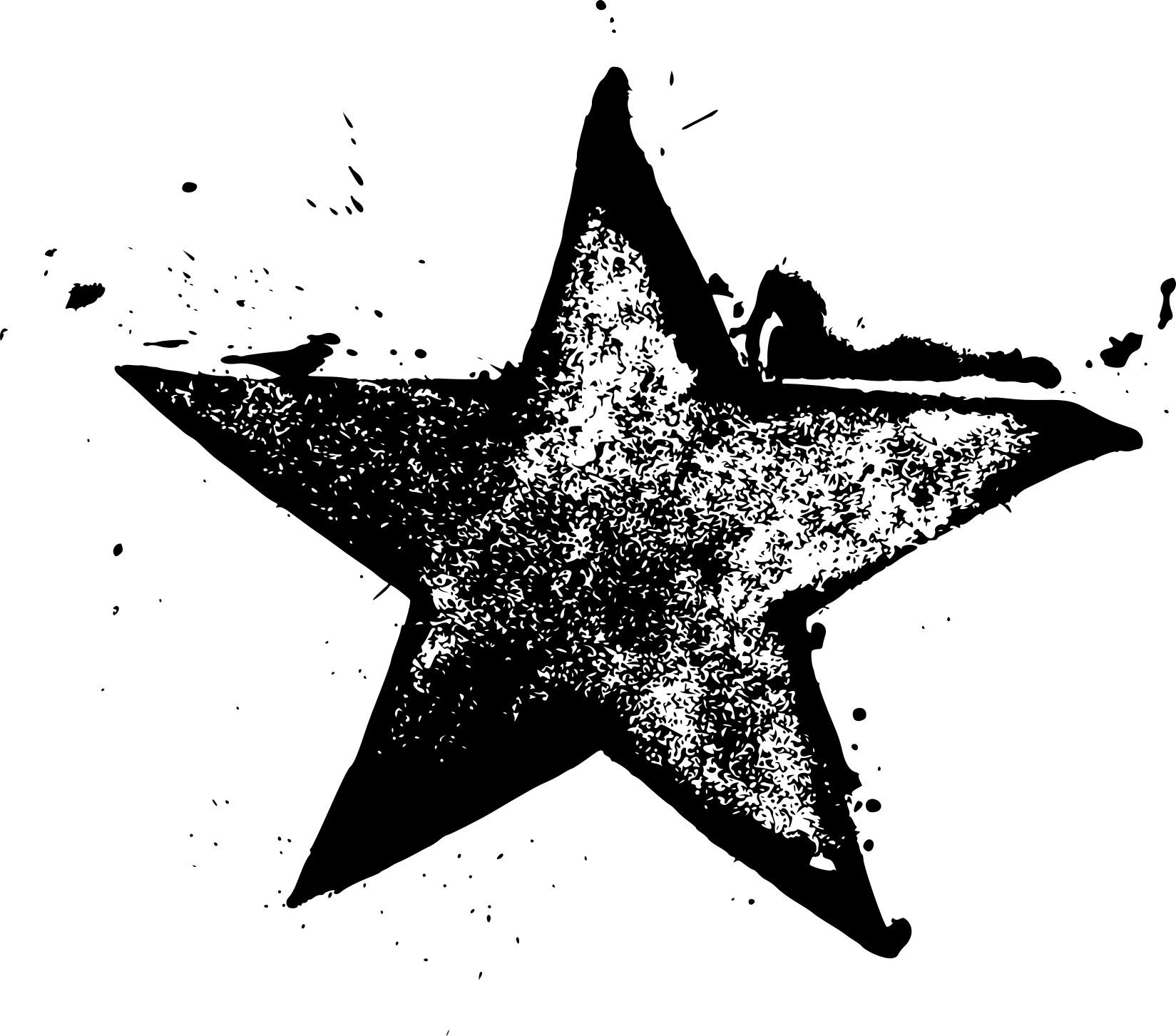 9 Grunge Star Stamp (PNG Transparent)   OnlyGFX.com