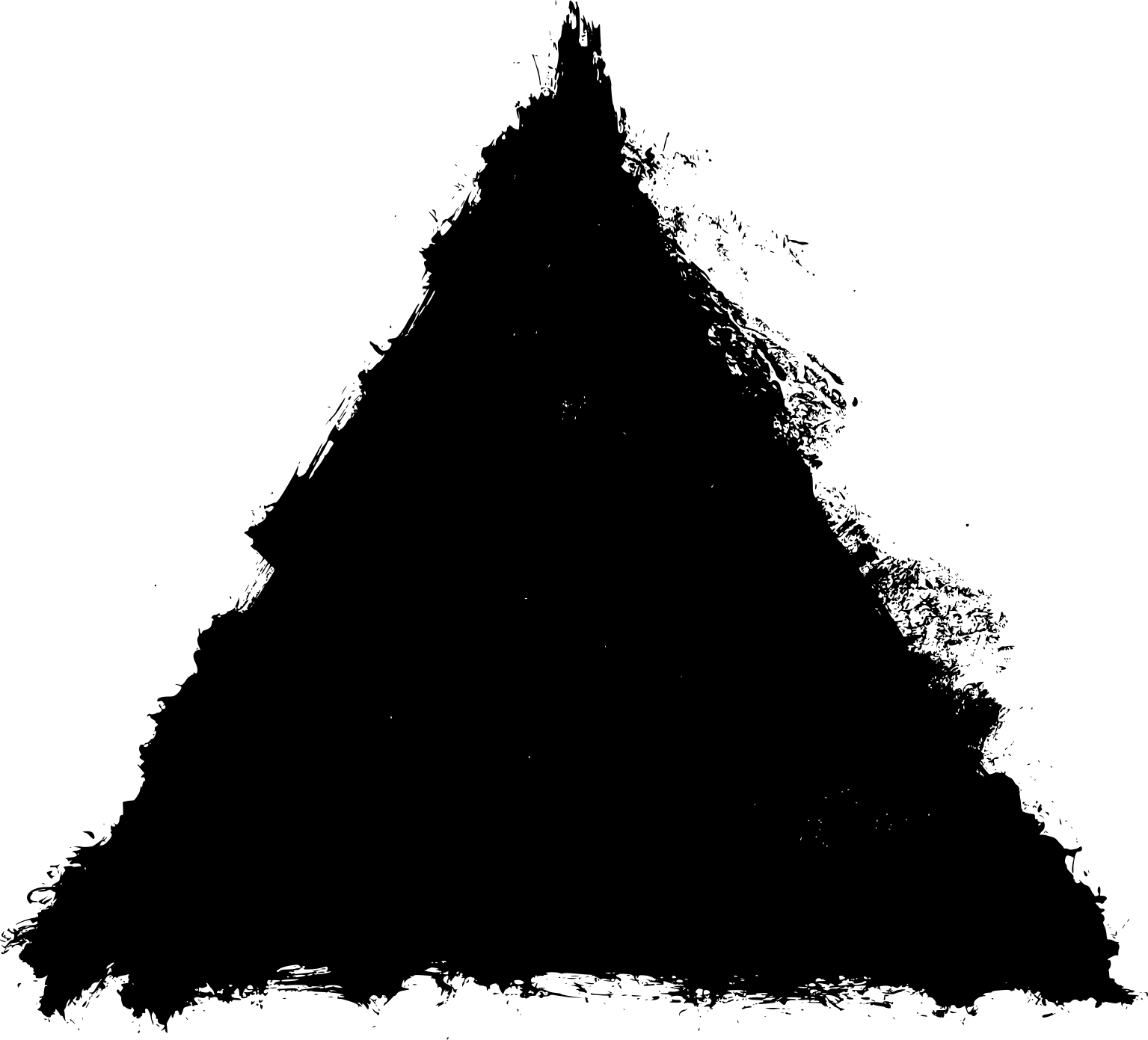 4 grunge triangle  png transparent
