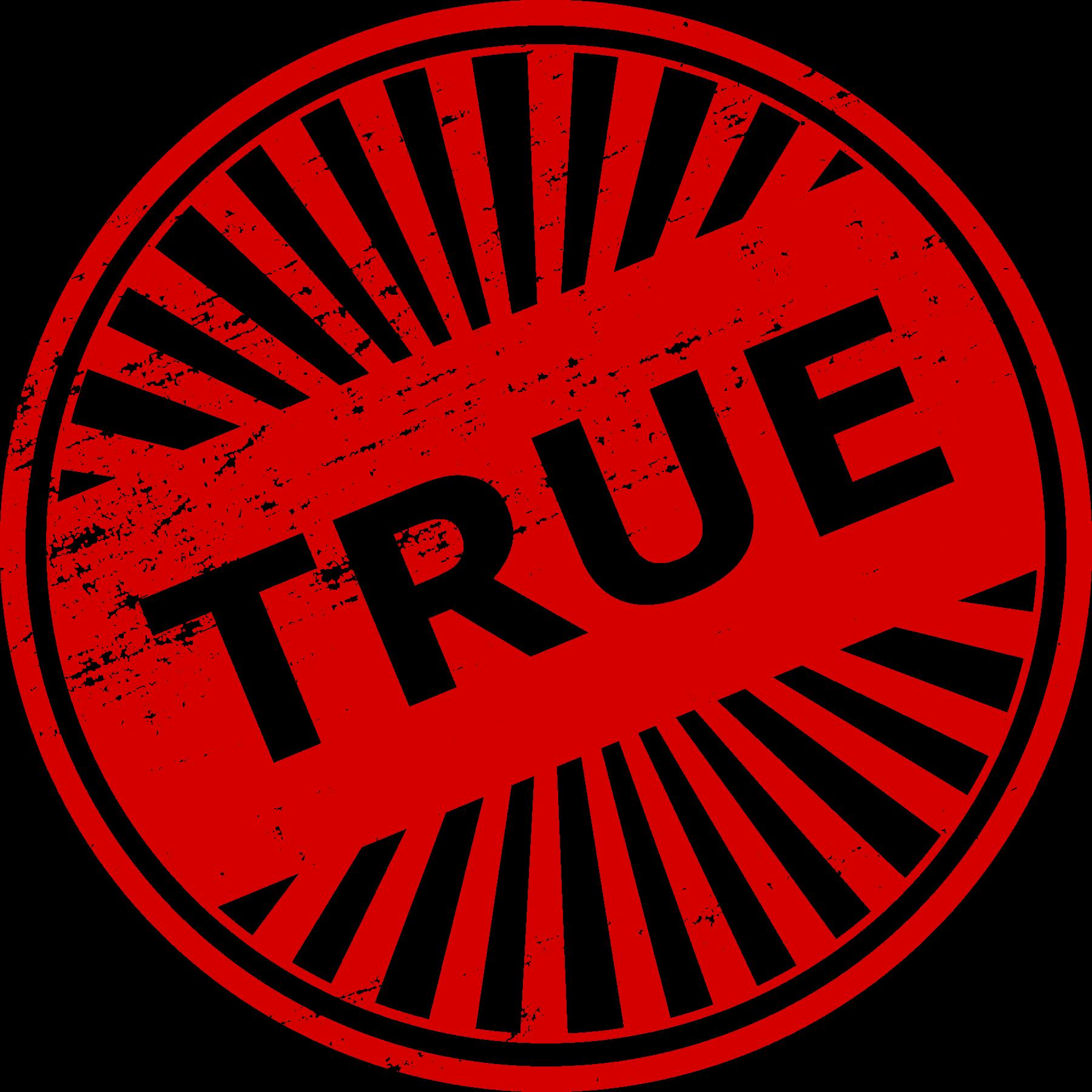 4 true stamp  png transparent