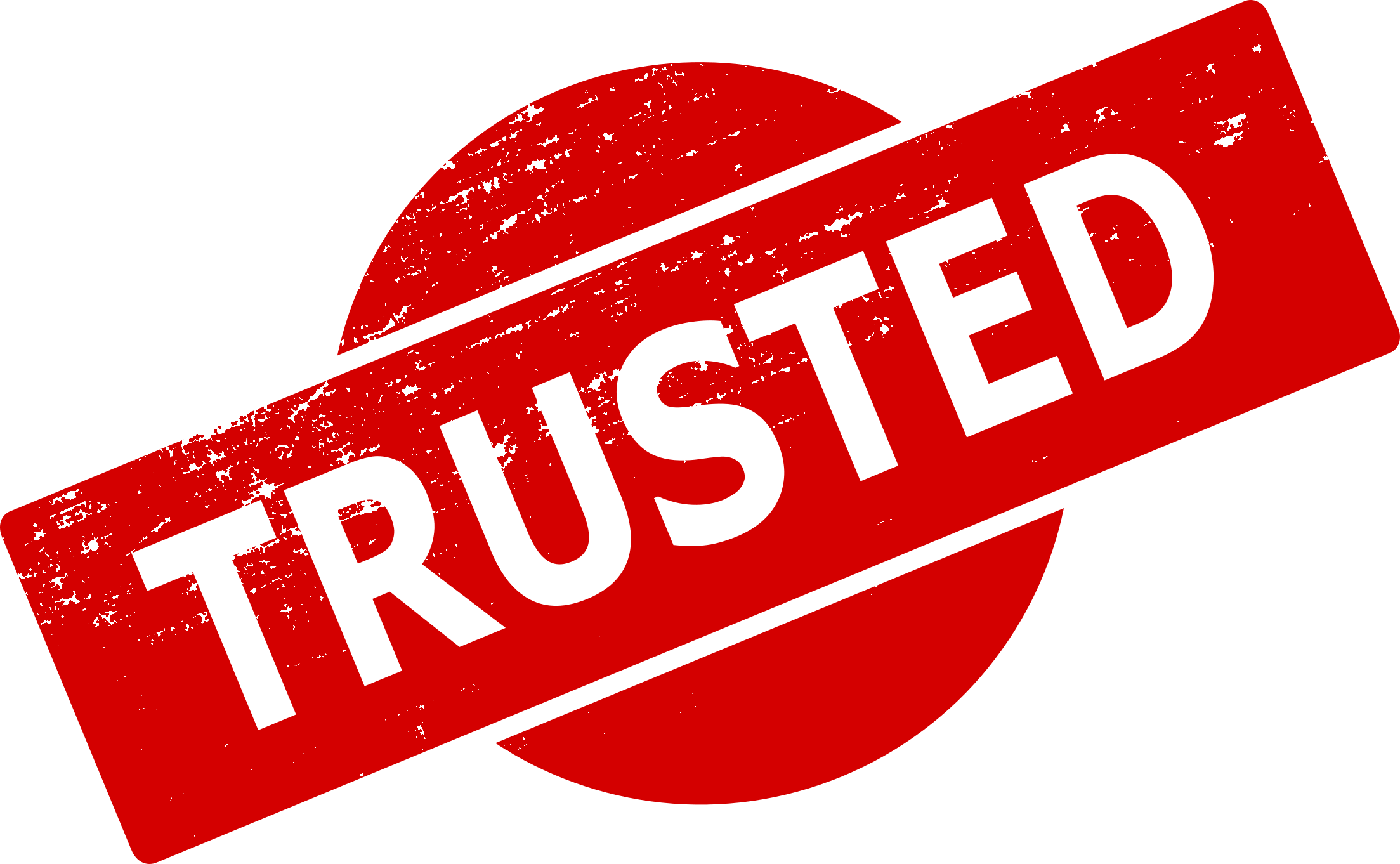 4 Trusted Stamp (PNG Transparent) | OnlyGFX.com