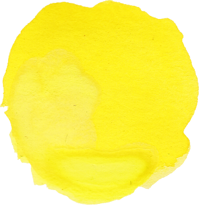 9 Yellow Watercolor Circle (PNG Transparent) Vol 2 | OnlyGFX com