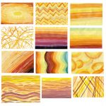 12 Watercolor Backgrounds (JPG)