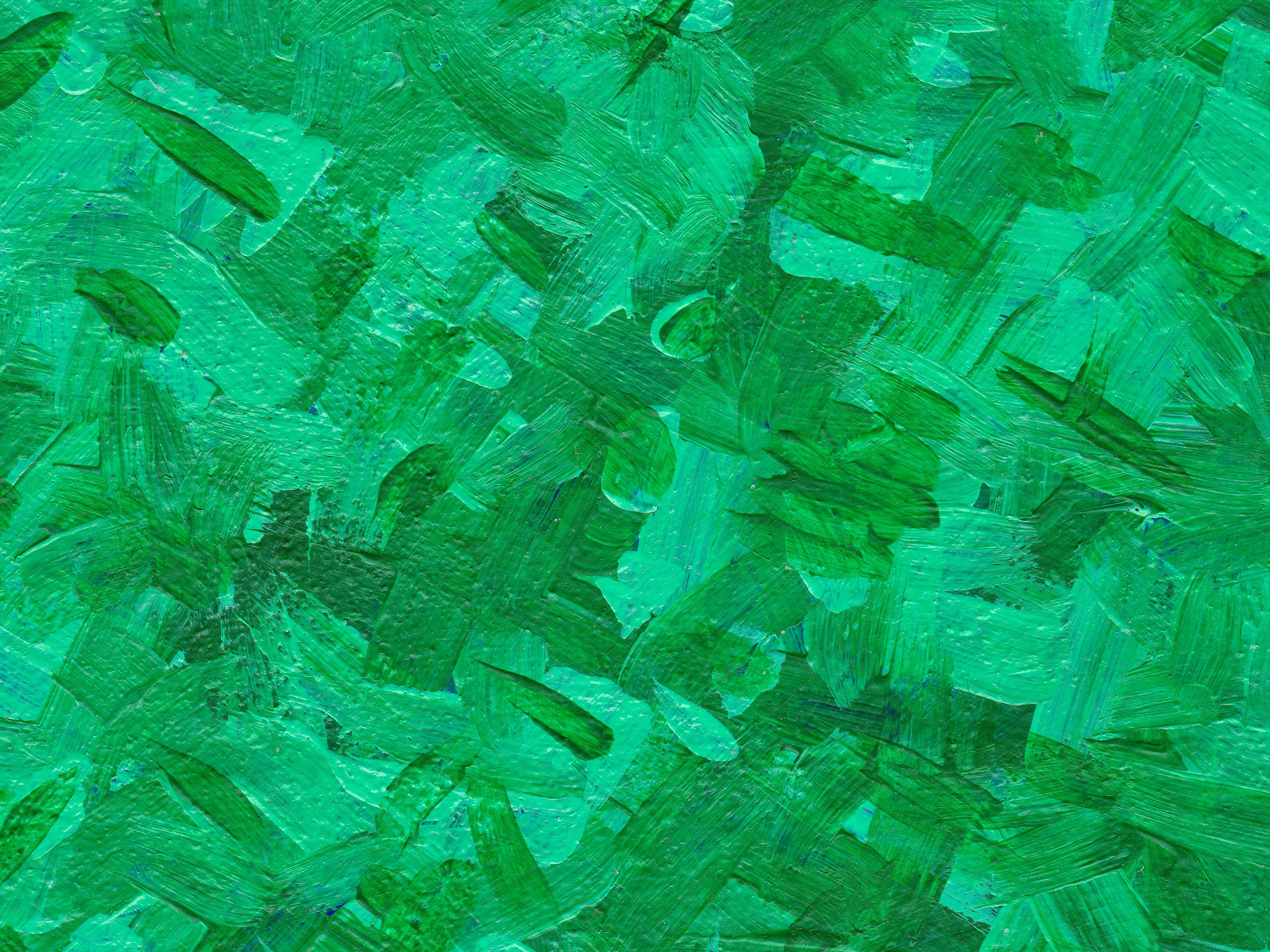 4 abstract acrylic green brush stroke background  jpg