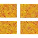 4 Abstract Acrylic Orange Yellow Background (JPG)
