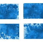 4 Blue Watercolor Splash Background (JPG)