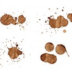 4 Coffee Splash Splatter (PNG Transparent)