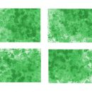 4 Green Watercolor Splash Background (JPG)