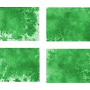 4 Green Watercolor Wash Background (JPG)