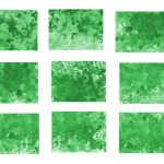 9 Abstract Green Watercolor Splatter Background (JPG)