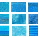 9 Blue Watercolor Texture (JPG)