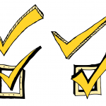 4 Comic Check Mark (PNG Transparent)