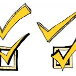 4 Comic Check Mark (PNG Transparent)