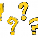 4 Comic Question Mark (PNG Transparent)