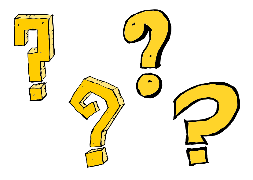 4 Comic Question Mark Png Transparent Onlygfx Com