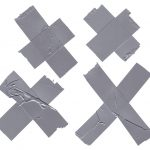 4 Cross X Duct Tape (PNG Transparent)