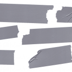 6 Duct Tape (PNG Transparent)