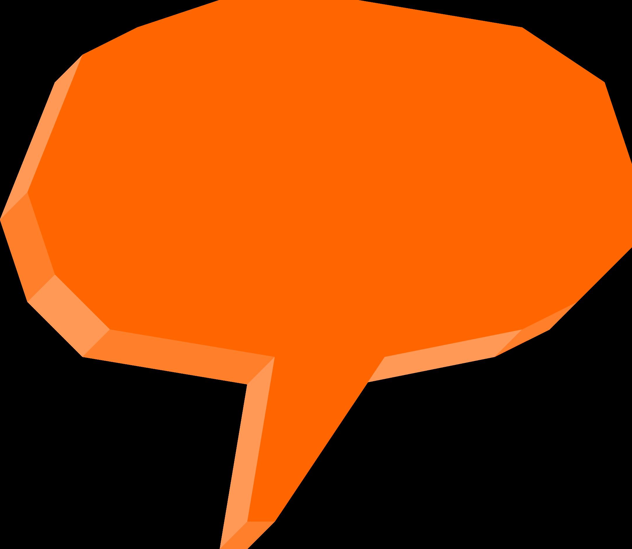 3D Speech Bubble (PNG Transparent)   OnlyGFX.com