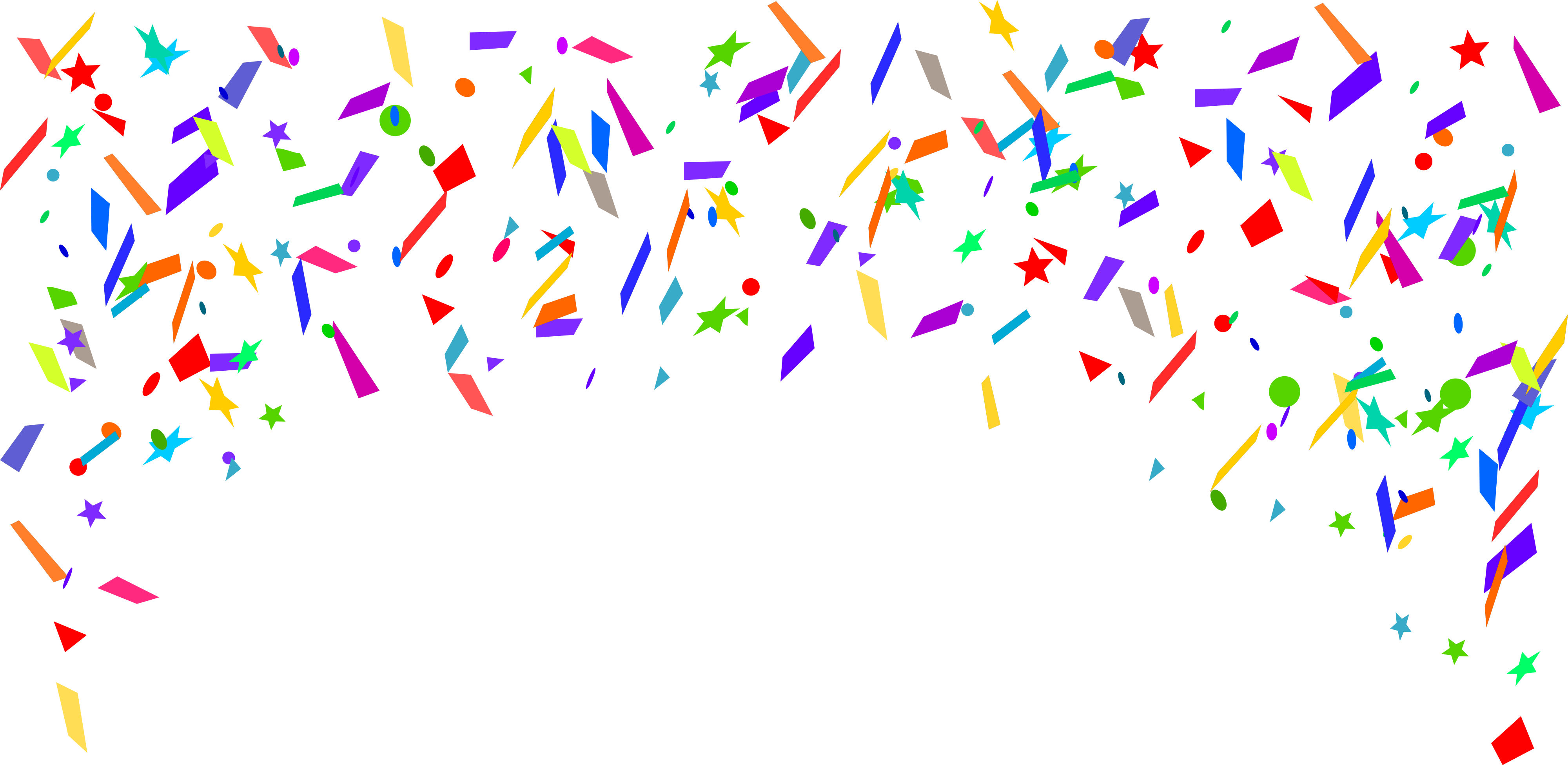 4 Confetti Background (PNG Transparent) | OnlyGFX.com